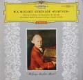 【ドイツ最初期盤/赤ステレオ】 クーベリックのモーツァルト/セレナード第7番「ハフナー」 独DGG 3105 LP レコード