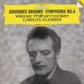 クライバーのブラームス/交響曲第4番 独DGG 3105 LP レコード