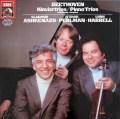 【サンプル盤】 パールマン、アシュケナージ&ハレルのベートーヴェン/ピアノ三重奏曲全集 独EMI 3105 LP レコード
