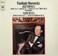 ホロヴィッツのベートーヴェン/「悲愴」ソナタほか 独CBS 3105 LP レコード