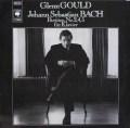 グールドのバッハ/パルティータ第2、4、5番 独CBS 3105 LP レコード