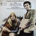 デュ・プレ&バレンボイムのエルガー/チェロ協奏曲ほか 独CBS 3105 LP レコード