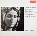 ズスケ四重奏団のベートーヴェン/弦楽四重奏曲第5&6番 独ETERNA 3105 LP レコード