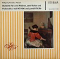 ウルブリヒ四重奏団のモーツァルト/弦楽五重奏曲第2&4番 独ETERNA 3105 LP レコード