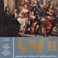 フッフロ&ルージチコヴァーのバッハ/チェロソナタ第1〜3番 チェコスロヴァキアSUPRAPHON 3105 LP レコード