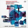 ナヴァラ&スークのマルティヌー&イベール&ボッケリーニ/協奏曲集 チェコスロヴァキアSUPRAPHON 3105 LP レコード