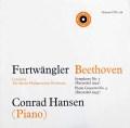 フルトヴェングラーのベートーヴェン/交響曲第5番ほか 英Unicorn 3105 LP レコード