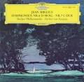 カラヤンのシベリウス/交響曲第6&7番 独DGG 3015 LP レコード