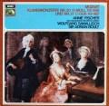 フィッシャーのモーツァルト/ピアノ協奏曲第20&21番 独EMI 3015 LP レコード