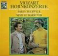 タックウェル&マリナーのモーツァルト/ホルン協奏曲集 独EMI 3015 LP レコード