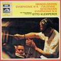 クレンペラーのメンデルスゾーン/交響曲第4番「イタリア」ほか  仏EMI(VSM) 3015 LP レコード