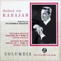 【オリジナル盤】カラヤンのブリテン/「フランク・ブリッジの主題による変奏曲」ほか  英Columbia 3015 LP レコード