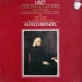 ブレンデルのリスト/後期ピアノ作品集  蘭PHILIPS 3015 LP レコード