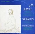 ライナーのラヴェル/「高雅で感傷的なワルツ」&「パヴァーヌ」ほか  独RCA 3015 LP レコード