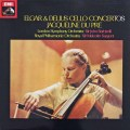 デュ・プレのエルガー&ディーリアス/チェロ協奏曲 英EMI 3015 LP レコード