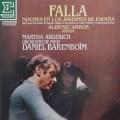 アルゲリッチ&バレンボイムのファリャ/「スペインの夏の夜」ほか 仏ERATO 3015 LP レコード