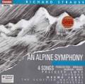 ヤルヴィのR.シュトラウス/「アルプス交響曲」ほか 英Chandos 3015 LP レコード