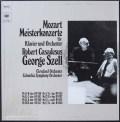カサドシュ&セルのモーツァルト/ピアノ協奏曲集 独CBS 3015 LP レコード