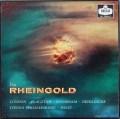 【モノラル】ショルティのワーグナー/「ラインの黄金」全曲 英DECCA 3015 LP レコード