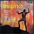 ショルティのワーグナー/「ジークフリート」全曲 英DECCA 3015 LP レコード