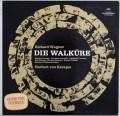カラヤンのワーグナー/「ワルキューレ」全曲 独DGG 3016 LP レコード