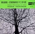 フルトヴェングラーのブラームス/交響曲第2番 仏DECCA 3016 LP レコード