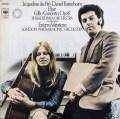 デュ・プレ&バレンボイムのエルガー/チェロ協奏曲ほか 独CBS 3016 LP レコード