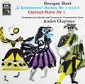 クリュイタンスのビゼー/「アルルの女」&「カルメン」組曲  独EMI 3016 LP レコード
