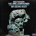 ショルティのベートーヴェン/交響曲全集  英DECCA 3016 LP レコード
