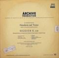 ヨッフムのモーツァルト/「レクイエム」   独ARCHIV 3018 LP レコード