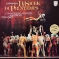 デイヴィスのストラヴィンスキー/「春の祭典」  蘭PHILIPS 3018 LP レコード