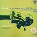 グリュミオー・トリオらのモーツァルト/弦楽五重奏曲第3&4番  蘭PHILIPS 3018 LP レコード