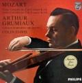 グリュミオー&デイヴィスのモーツァルト/ヴァイオリン協奏曲第3&5番  蘭PHILIPS 3018 LP レコード