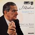 ベイヌムのブラームス/交響曲第1番  蘭PHILIPS 3018 LP レコード