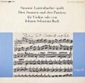 ラウテンバッハーのバッハ/無伴奏ヴァイオリンソナタ&パルティータ第3番  独musicaphon 3018 LP レコード