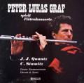 グラーフのクヴァンツ&シュターミッツ/フルート協奏曲集  スイスclaves 3018 LP レコード