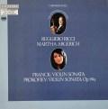 リッチ&アルゲリッチのフランク&プロコフィエフ/ヴァイオリンソナタ集  独ETCETERA 3018 LP レコード