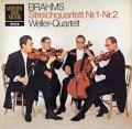 ウェラー四重奏団のブラームス/弦楽四重奏曲第1&2番  独DECCA 3018 LP レコード