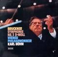 ベームのブルックナー/交響曲第3番  独DECCA 3018 LP レコード