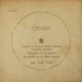 【モノラル】ナットのショパン/ピアノソナタ第2番「葬送行進曲付き」ほか  仏DF 3018 LP レコード