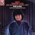 小澤のビゼー/交響曲ほか  独EMI 3018 LP レコード