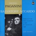 アッカルドのパガニーニ/ヴァイオリン曲集  仏RCA 3018 LP レコード