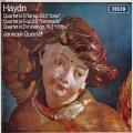 ヤナーチェク四重奏団のハイドン/弦楽四重奏曲第38番「冗談」ほか  英DECCA 3018 LP レコード