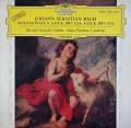 オイストラフ&ピシュナーのバッハ/ヴァイオリンとチェンバロのためのソナタ第2&3番  独DGG 3020 LP レコード