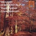 アンセルメのブラームス/交響曲第2番ほか   英DECCA 3020 LP レコード