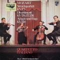 イタリア四重奏団のモーツァルト/弦楽四重奏曲第13番&ディヴェルティメント集    蘭PHILIPS 3020 LP レコード
