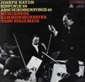 シュタットルマイアのハイドン/交響曲第36&45番「告別」    独musicaphon 3020 LP レコード