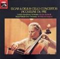 デュ・プレのエルガー&ディーリアス/チェロ協奏曲  英EMI 3020 LP レコード