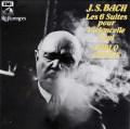 カザルスのバッハ/無伴奏チェロ組曲全集  仏EMI(VSM) 3020 LP レコード
