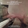 グールドのバッハ/ピアノ協奏曲第2、4番&イタリア協奏曲  独CBS 3020 LP レコード